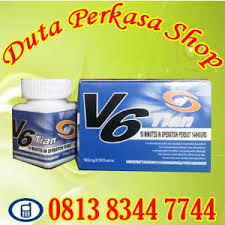 obat kuat pria alami v6 tian usa tablet herbal duta beauty