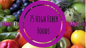 75 high fiber foods for breakfast lunch and dinner fiber guardian