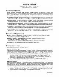 Academic Resume For College Applications Sample Cover Letter For Resume Graduate