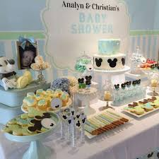 baby mickey baby shower baby mickey mouse baby shower dessert table baby shower ideas