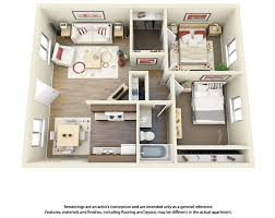 Floor Plan Of An Apartment 11 Best 3d Floor Plans For Apartments Images On Pinterest