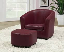 Geometric Accent Chair Nice Burgundy Accent Chair With Arm Chair Red Chairs Living Room