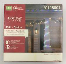 Christmas Rope Lights Ebay by Holiday Living 18 Ft Clear Rope Light Holiday Living 216 Count 18