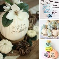 No Carve Pumpkin Decorating Ideas 25 Unusual Pumpkin Decorating Ideas Without Carving Just