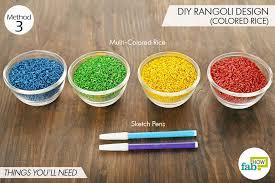 diy easy hacks to make stunning rangoli designs this diwali fab how