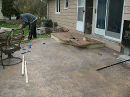 Building Patios by Patio Steps Youtube