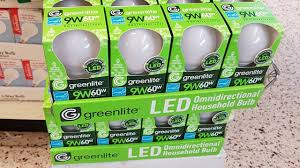 dollar tree 1 greenlite led bulb 9w 60w review and teardown