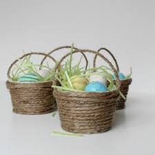 painted easter buckets mini easter basket favors hometalk