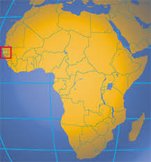 africa map gambia the gambia country profile nations project