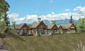 ranch floor plans log homes ranch style log home plans ranch log