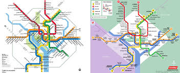 Dc Subway Map by Kickmap Washington Dc Metro