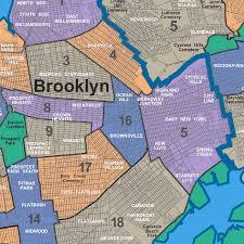 Williamsburg Brooklyn Map A Guide To Every Community Board In Brooklyn
