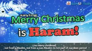 saying merry is haram ᴴᴰ