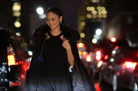 pia bureau miss universe pia wurtzbach poses with borrowed fur coat from