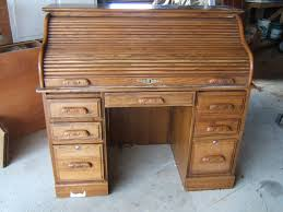 Small Oak Desk With Drawers by Small Roll Top Desk Oak Best Home Furniture Decoration