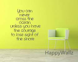 popular custom vinyl quotes buy cheap custom vinyl quotes lots courage motivational quote wall sticker diy decorative courage inspirational quote office vinyl wall art decal custom