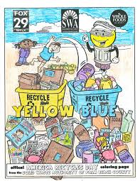 2017 swa america recycles day coloring contest solid waste