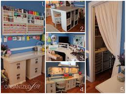 Craft Room Images by Home Office Craft Room Tour Pretty Neat Living