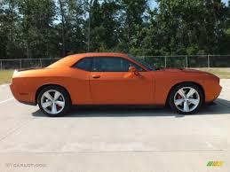 Dodge Challenger Orange - toxic orange pearl 2011 dodge challenger srt8 392 exterior photo