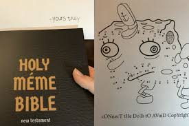 Bible Memes - this meme bible activity book could make a great christmas present