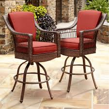 Outdoor Furniture Sale Sears by La Z Boy Outdoor Scarlett Bar Chair Set 2pk