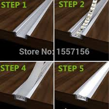 how to build cove lighting led recessed strip lights with aluminum channel and plastic lens