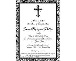confirmation invitation damask confirmation invitation confirmation invitation