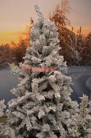 4ft 5ft 6ft 7ft or 8ft snowy toronto pine artificial christmas