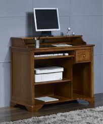 bureau ordinateur bois petit bureau informatique malorie en merisier de style louis