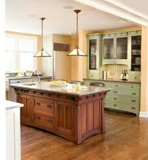 mission style kitchen cabinets mission kitchens insteading