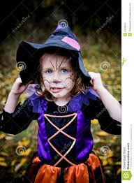little in witch costume stock photography image 33328042