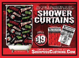 Sourpuss Shower Curtain March 2011 Sourpuss Clothing Blog Sourpuss Clothing