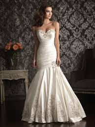 wedding dress ruching sweetheart satin ruched wedding dress with embroidery beading crystals