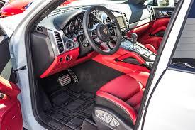 black porsche red interior 2016 porsche cayenne gts for sale in colorado springs co 16011
