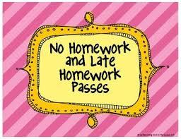 the 25 best homework pass ideas on pinterest student birthdays