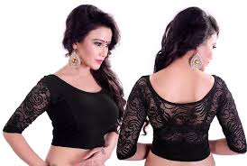15 patterns of stretchable blouses for sarees
