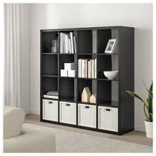 16 Cube Bookcase White Kallax Shelf Unit White Ikea