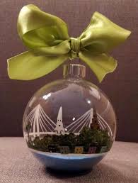 custom made painted glass ornaments by
