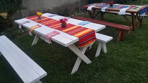 picnic table rentals parlani party rentals