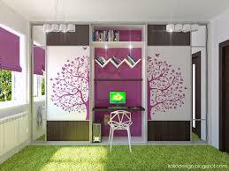 tips decoration interior best idea bedroom purple white green