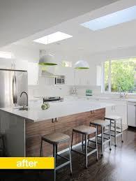 kitchen before u0026 after heejoo u0027s open floor plan ikea renovation