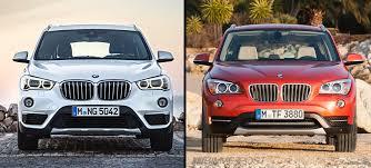 bmw x3 2012 vs 2013 visual comparison of bmw x1 f48 vs outgoing x1 e84