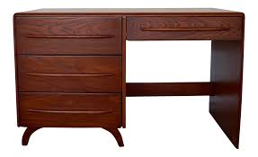 mid century california modern desk by pierce u0026 sons chairish