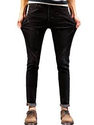jeans black 38 maple leaf print zip fly tapered jeans gamiss