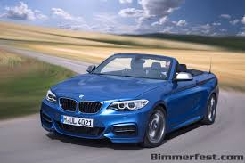 the 2015 bmw 2 series convertible bmw news at bimmerfest com