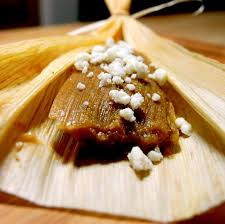 pumpkin pie tamales sweet