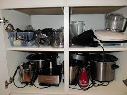 Colorful Kitchen Cabinets Everyday Organizing An Organized Kitchen Pretend Pull Outs