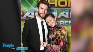 American Foundation For The Blind Dallas Miley Cyrus Gushes Over How U0027hunky U0027 Liam Hemsworth Is People Com
