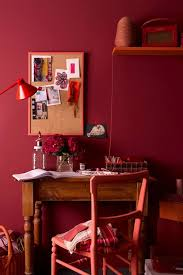 in the red wall paint wall u0026 feature wall paint colour ideas