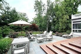 Open Patio Designs Large Backyard Patio Ideas Garden Design With Marvelous Backyard